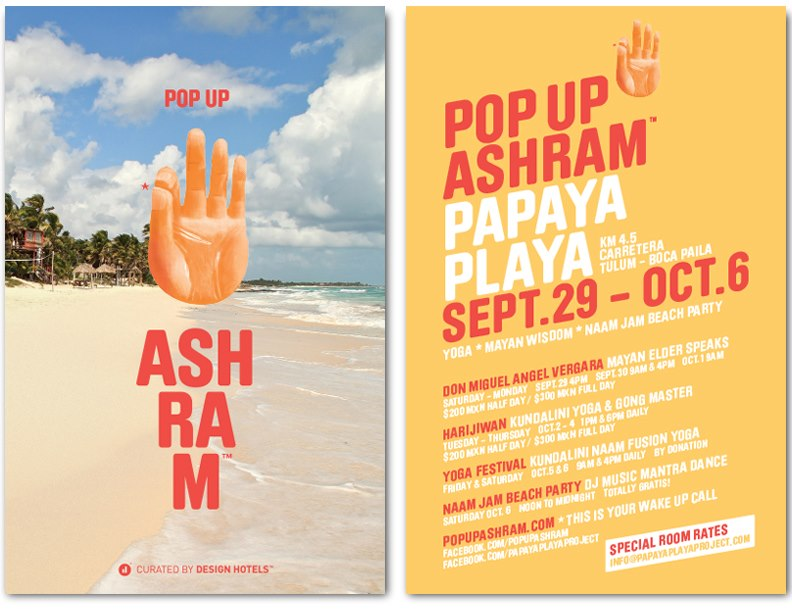 POPUP ASHRAM @ PAPAYA PLAYA
