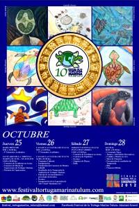 10º Festival de la Tortuga Marina, Tulum 2012