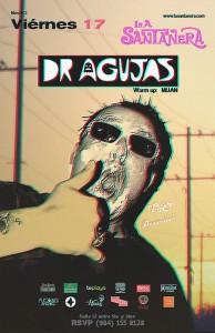 Dr. Agujas @ La Santanera , Playa del Carmen