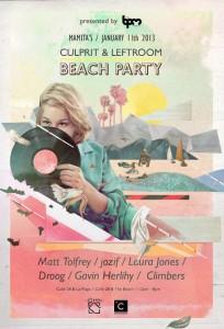 Culprit & Leftroom Beach Party The BPM 2013 @ Mamitas