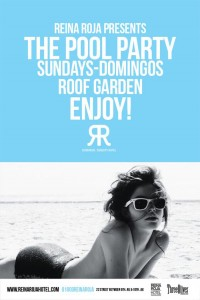 The Pool Party @ Reina Roja