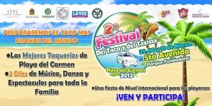 2º Festival del Taco @ Playa del Carmen