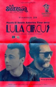 Lula Circus @ La Santanera