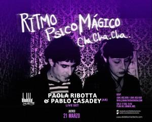 Paola Ribotta & Pablo Casadey @ Diablito Cha cha cha