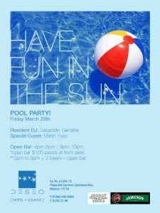 Pool Party @ Hotel Deseo