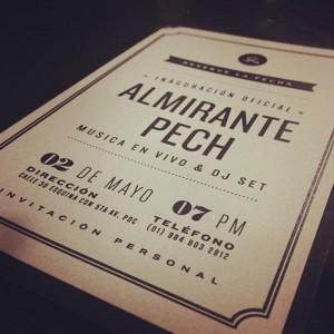 Fiesta de Inauguración @ Almirante Pech