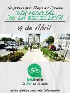 Paseo en Bici @ Playa del Carmen
